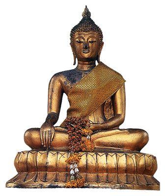 Статуя Будды. Бангкок, Таиланд