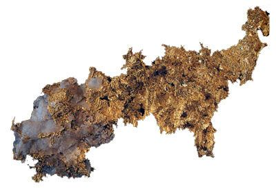 Кристаллическое золото