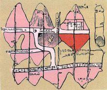 Древняя геологическая карта