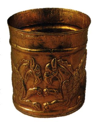 Оправа сарматского ритона