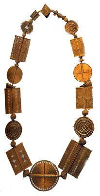Ожерелье ашанти
