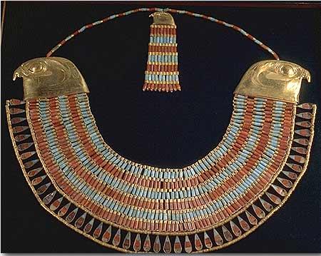 ювелирный музей – ювелирное искусство в древнем Египте: колье Неферусптар, 12 Династия