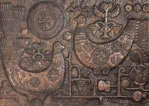 Ювелирное искусство Грузии XIX-XX вв. Декоративное панно