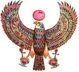 ювелирное искусство в древнем египте – Хорус, божество Верхнего Египта