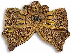 Музей ювелирного искусства – Греция – Часть 8.3. Византия (4-15 век). Пряжка из Малой Азии