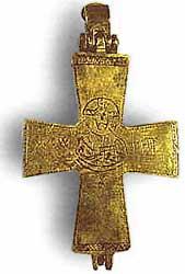 Музей ювелирного искусства – Греция – Часть 8.2. Византия (4-15 век). Бронзовый крест