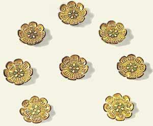 Часть 5. Архаический период. Золотые розетки с эмалью
