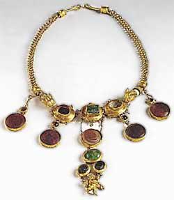 Музей ювелирного искусства – Греция – Часть 6.1. Эллинский период. Золотой браслет