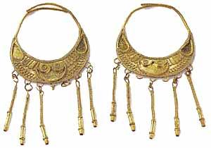 Музей ювелирного искусства – Греция – Часть 4. Античная Греция (1100-27 до РХ) Пара серег