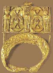 Музей ювелирного искусства – Греция – Часть 4. Античная Греция (1100-27 до РХ) Золотая пластина