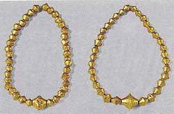 Музей ювелирного искусства – Греция – часть 1. Неолит (6800-3300 до рх). Золотое ожерелье
