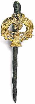 Музей ювелирного искусства – Греция – часть 1. Неолит (6800-3300 до рх). Серебряная булавка