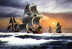 «Непобедимая армада в боевом строю»
