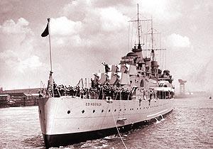 Крейсер «Эдинбург». 1939 г.